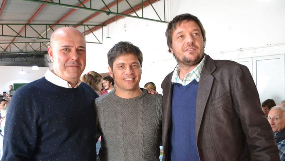 Kicillof visita hoy Arribeños y Rojas.