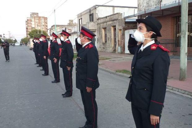 Día del Bombero Voluntario en Arenales