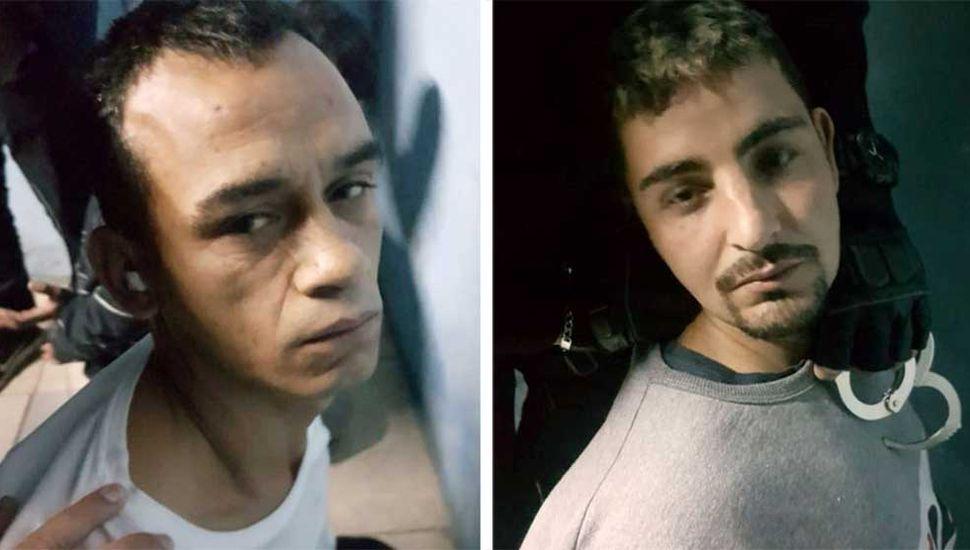 Cayeron dos prófugos de la fuga de Santa Fe: planeaban subsistir como sicarios narco