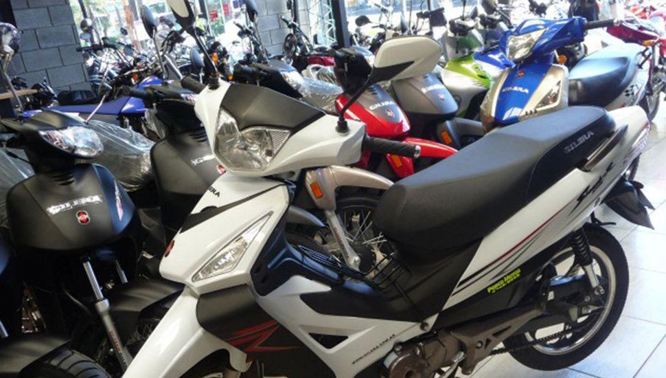 Cayó la venta de motos en el país