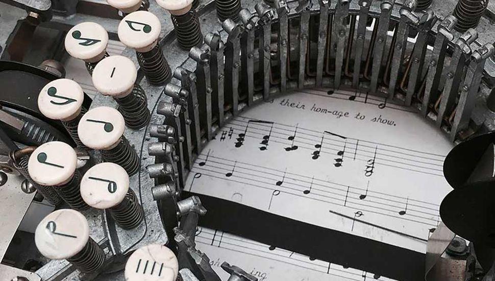 La historia de una máquina que no escribe letras ni números