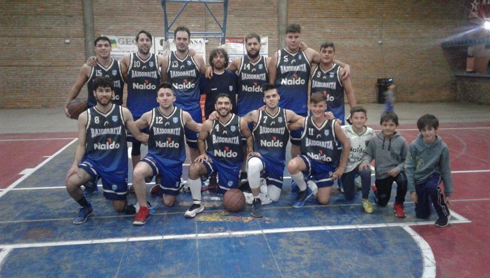Plantel de Deportivo Baigorrita.