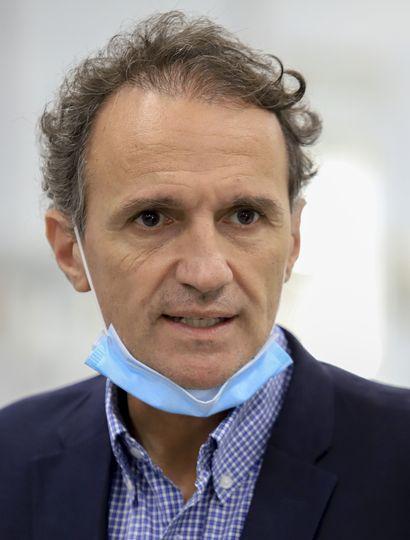 El ministro de Obras Públicas, Gabriel Katopodis, habló con Democracia.