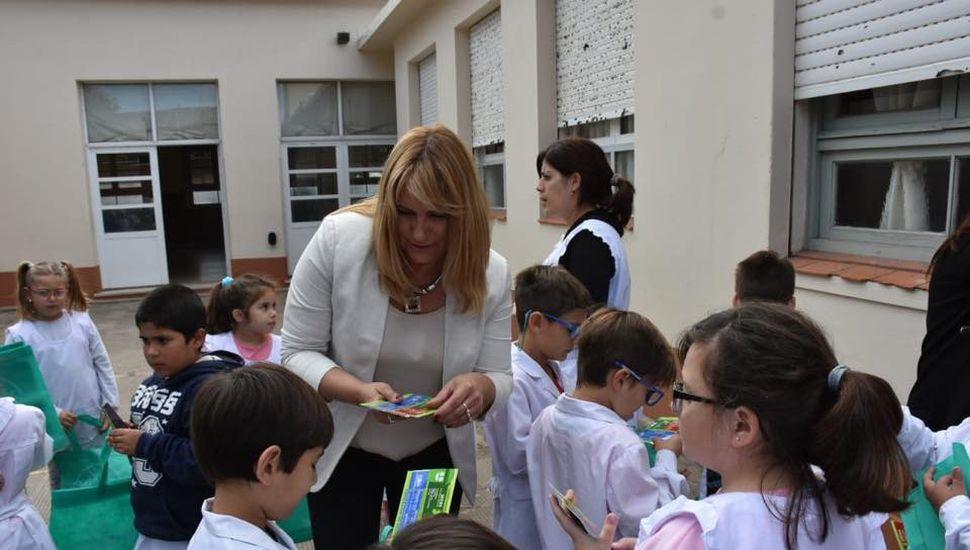 Difunden el programa de separación de residuos en escuelas de Arenales
