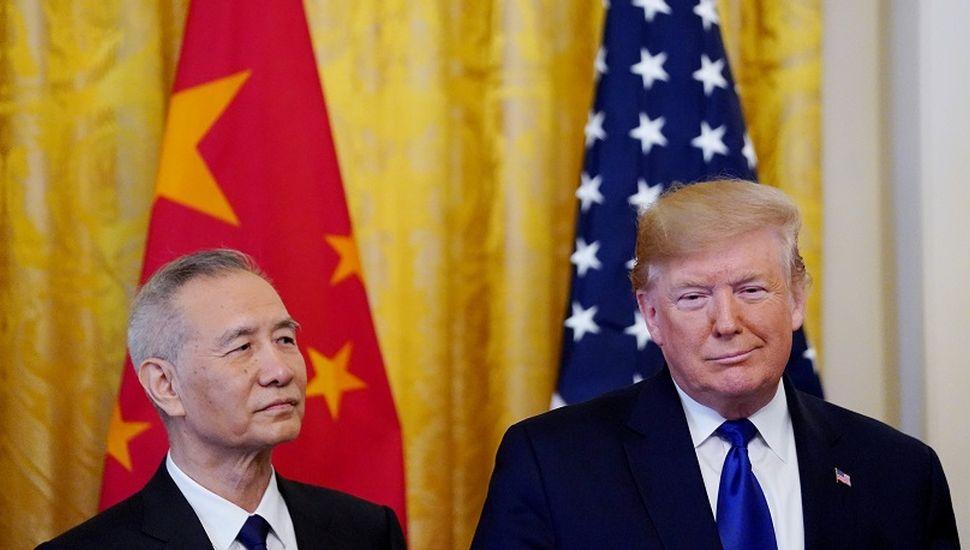 Sellan primera fase del acuerdo para poner fin a la guerra comercial