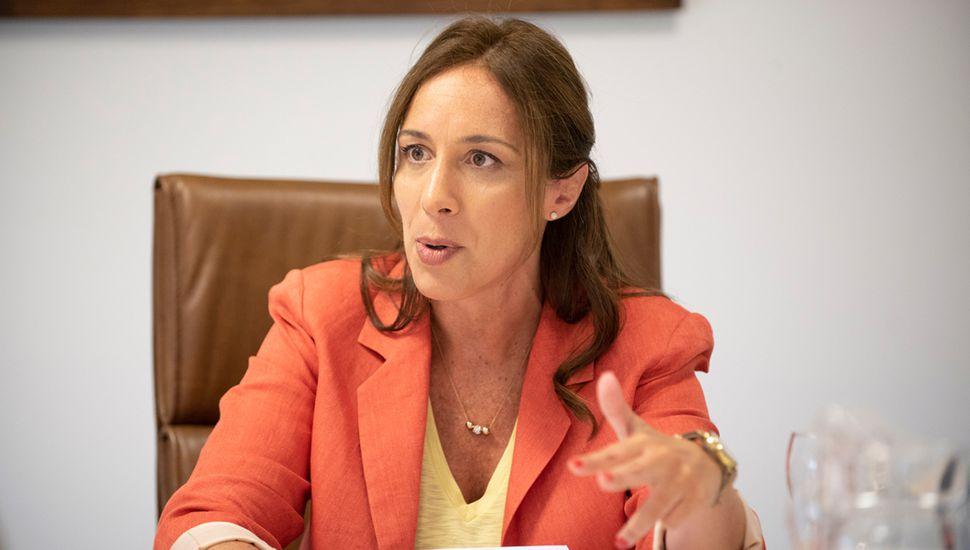 María Eugenia Vidal busca sumar voto a voto porque sabe que Mauricio Macri constituye un fuerte contrapeso para sus chances de reelección.