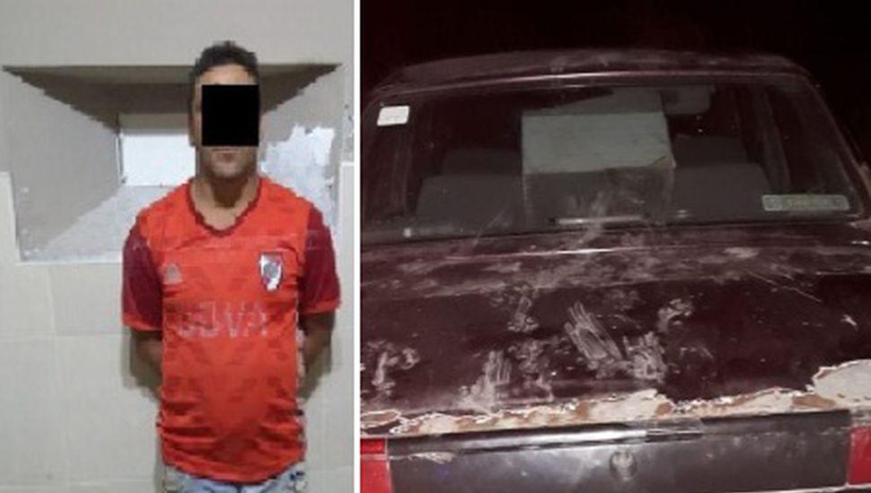 Conductor alcoholizado realizaba maniobras peligrosas: fue aprehendido