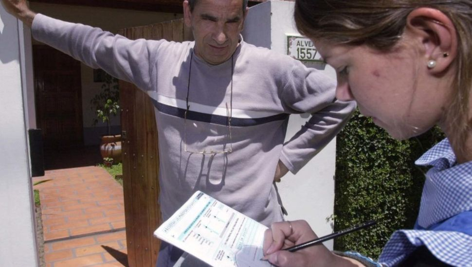 Inicia el censo para el Archivo de Domicilios de la República Argentina
