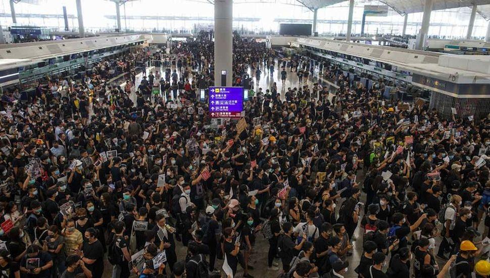 Prohibieron protestas en el aeropuerto