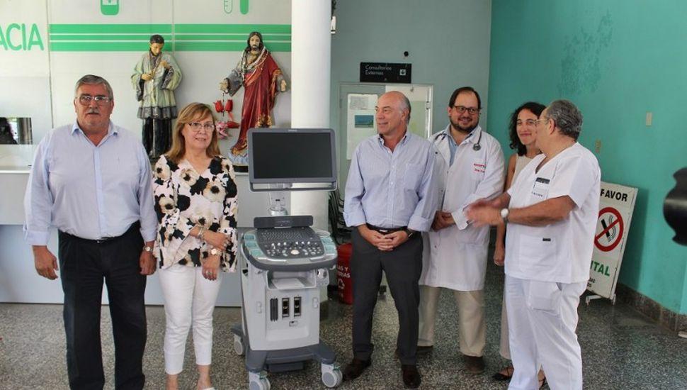 El hospital de Bragado sumó un ecógrafo de última tecnología