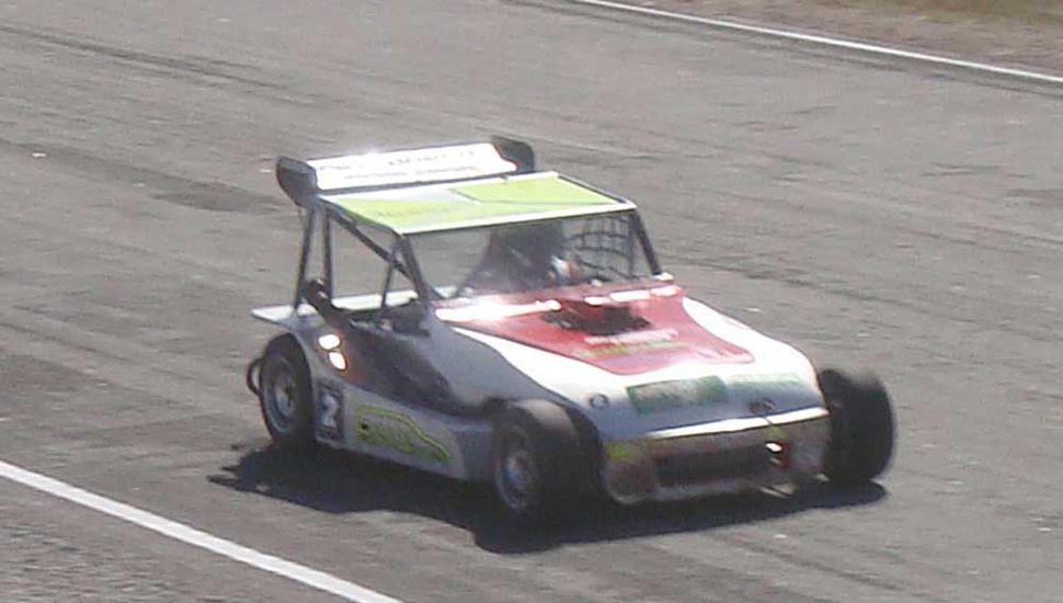 Emilio Fantini fue escolta del ganador en la Clase 3.