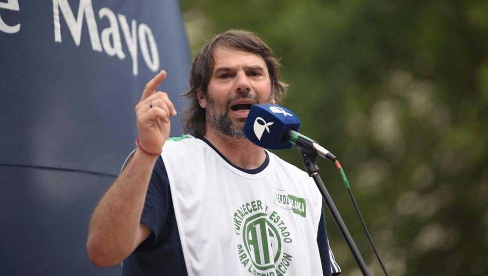 Daniel Catalano (ATE- Capital Federal).
