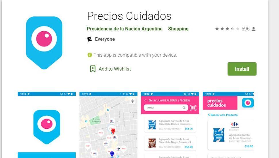 La aplicación se puede descargar desde Google Play o App Store