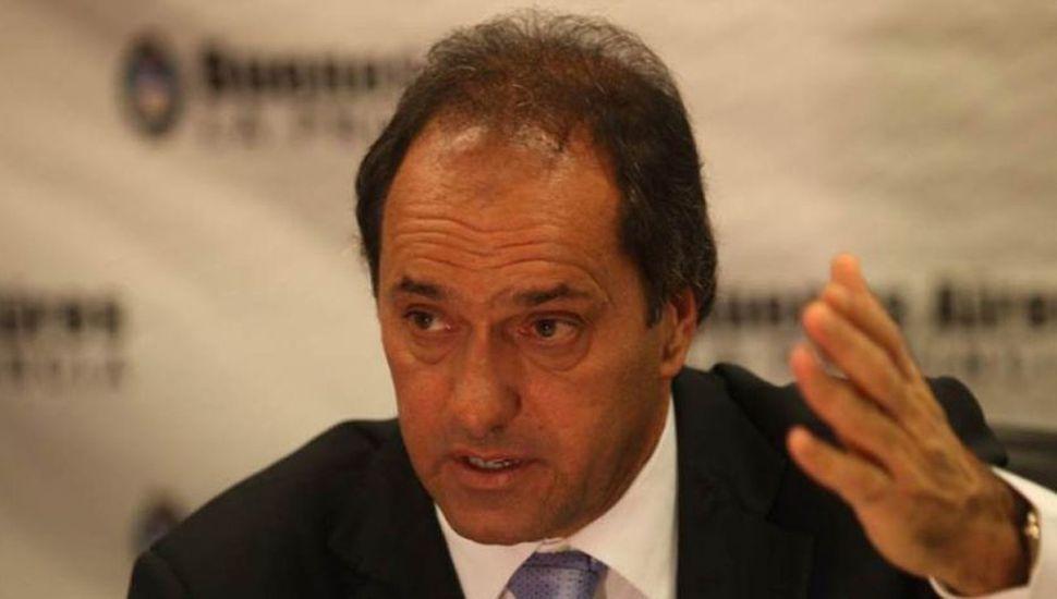 Scioli expresó sus intenciones de ser candidato en las presidenciales del 2019