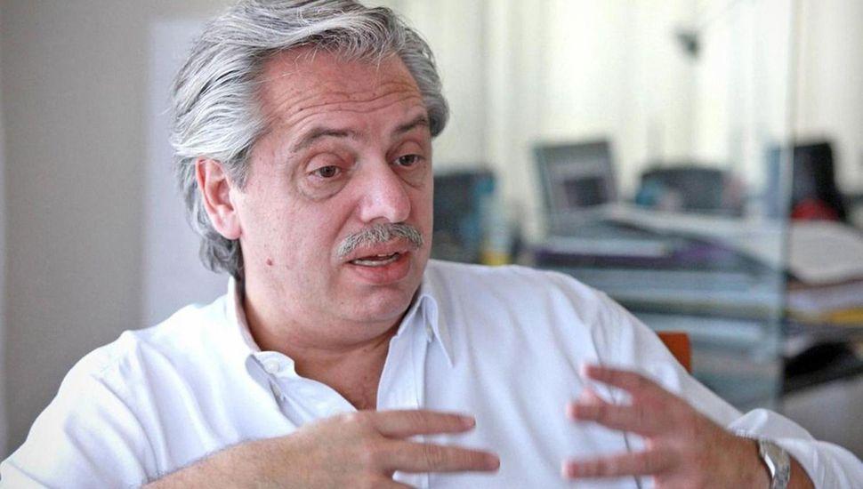 Alberto Fernández dijo que el macrismo creó