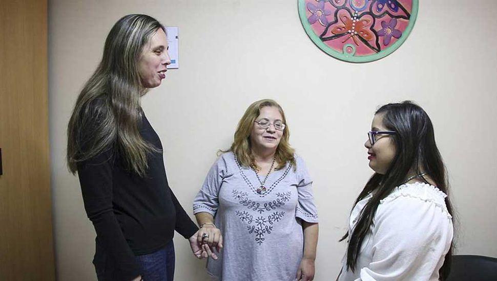 """""""No es un festejo, sino concientizar"""", dijo Karina Sánchez, del área de Discapacidad del municipio."""