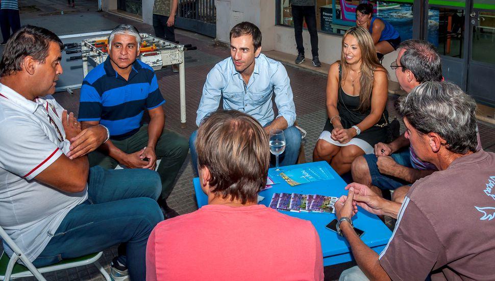 José Luis Brown participó del ciclo de charlas para jóvenes