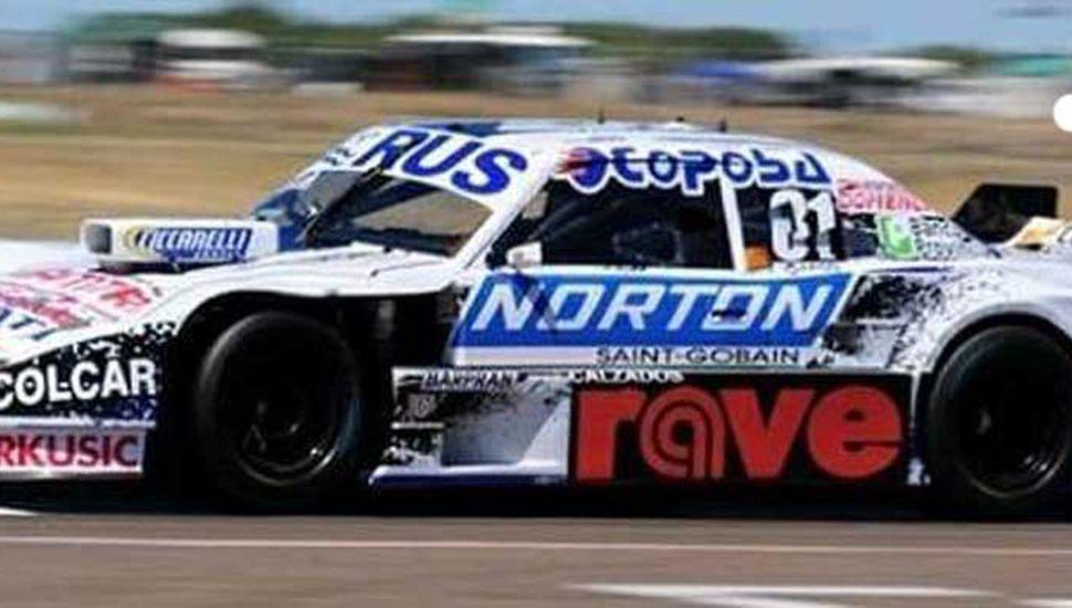 Federico Pérez y su Torino, presentes este fin de semana en la carrera de Turismo Carretera de Concepción del Uruguay.