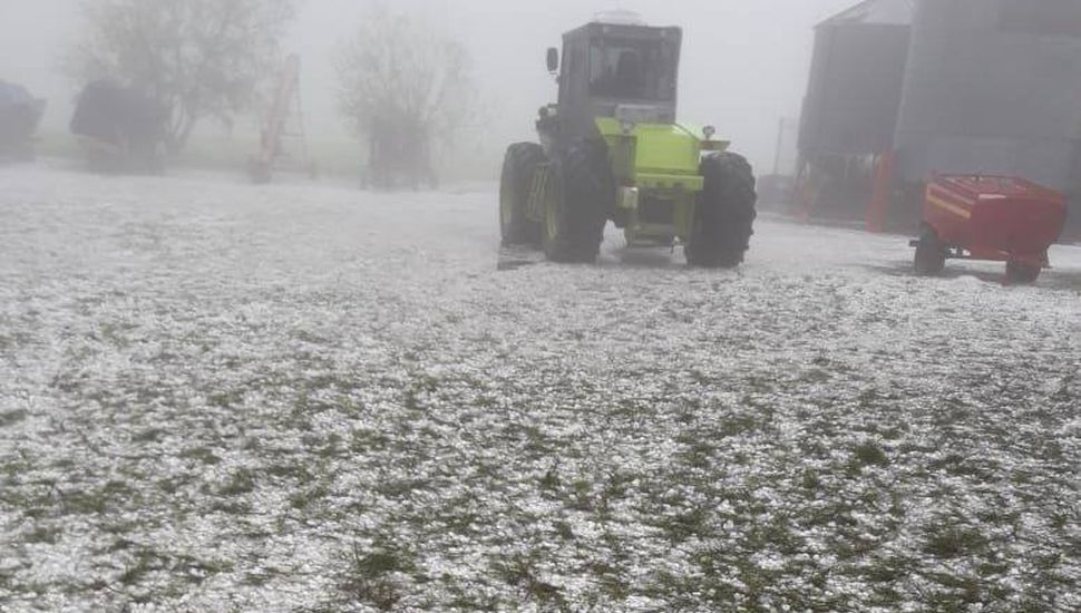 Alerta por tormentas fuertes con ráfagas y caída de granizo