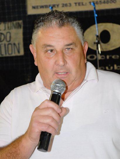 Eduardo Diotti, secretario general de Uocra Junín.