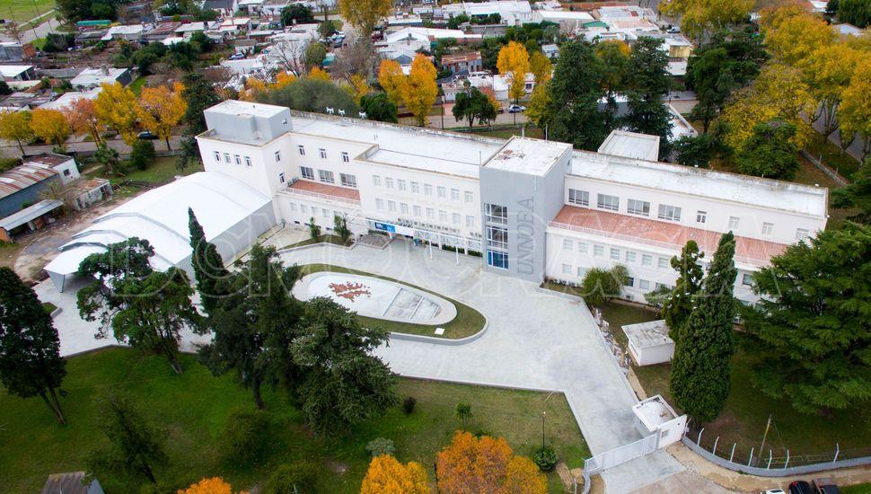 Junín desde el aire: Edificio Raúl Alfonsín