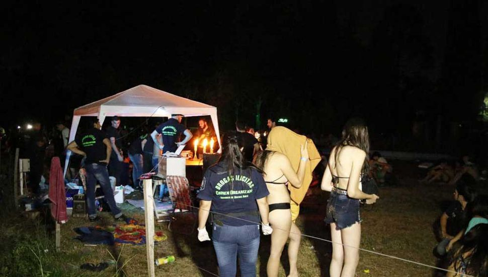 """La fiesta, llamada """"We Party"""", se promocionaba a través de las redes sociales."""