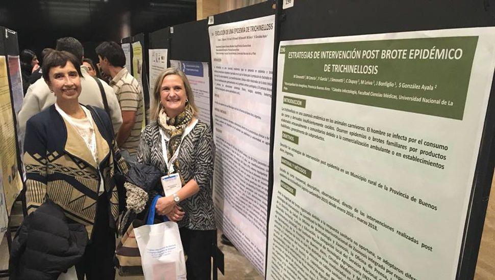 Ameghino participó del Congreso Internacional de Zoonosis