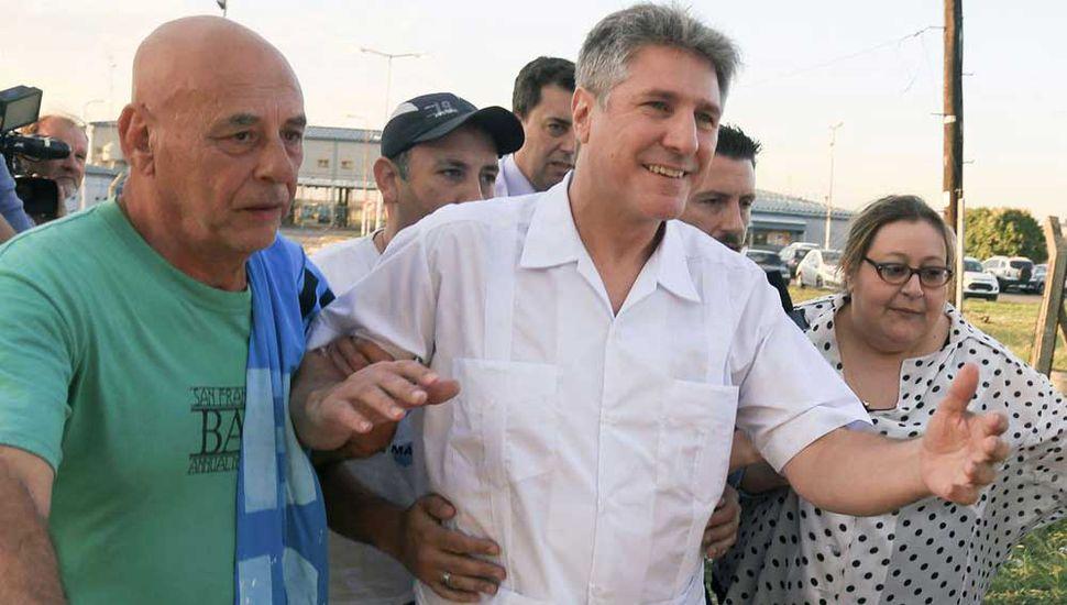 """""""Seguiré defendiendo mi inocencia"""", dijo Boudou al quedar libre"""