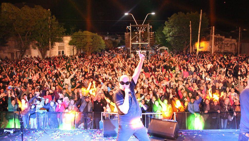 Gran show de La Mosca.