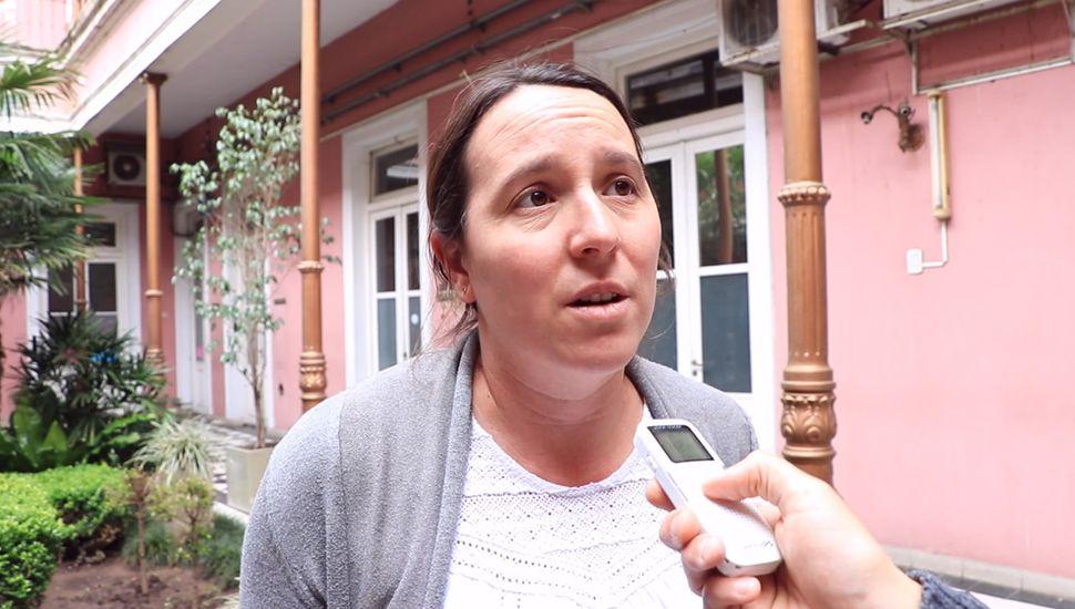 Perla Casella, Subsecretaria de Medio Ambiente del Municipio.