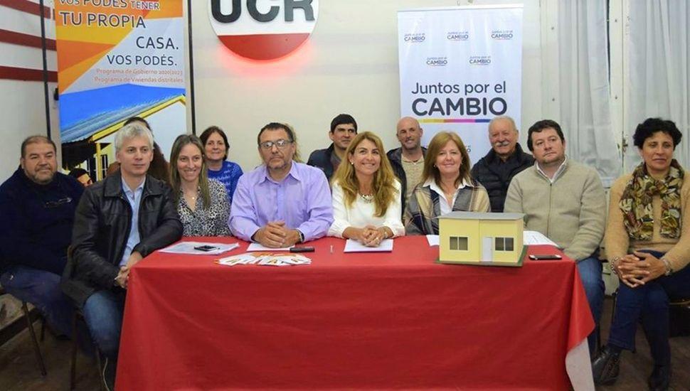 Integrantes de Juntos por el Cambio.