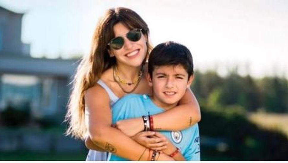 La confesión de Gianinna Maradona sobre las vacaciones del Kun Agüero con su novia y su hijo