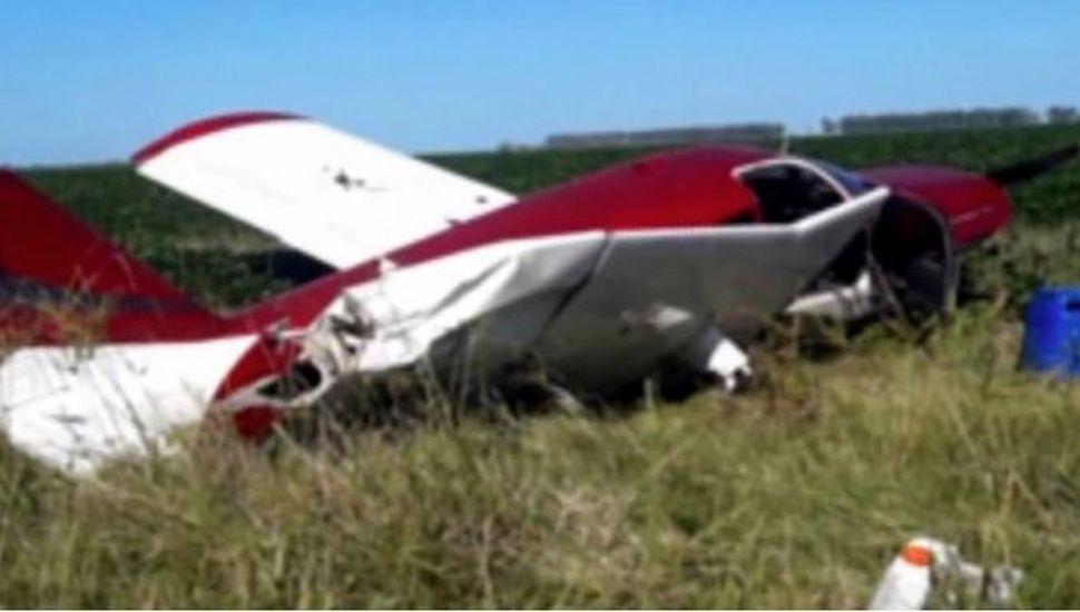 Cayó una avioneta y arrestaron al piloto por presunto transporte de drogas