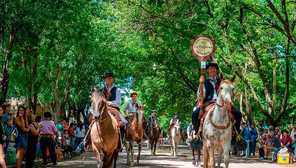 El desfile comenzó a las 11.