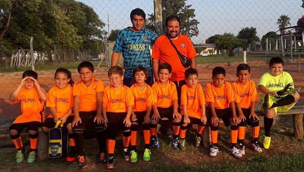 """Equipo de Despensa """"Abimael"""" que participa del segundo torneo de baby fútbol"""