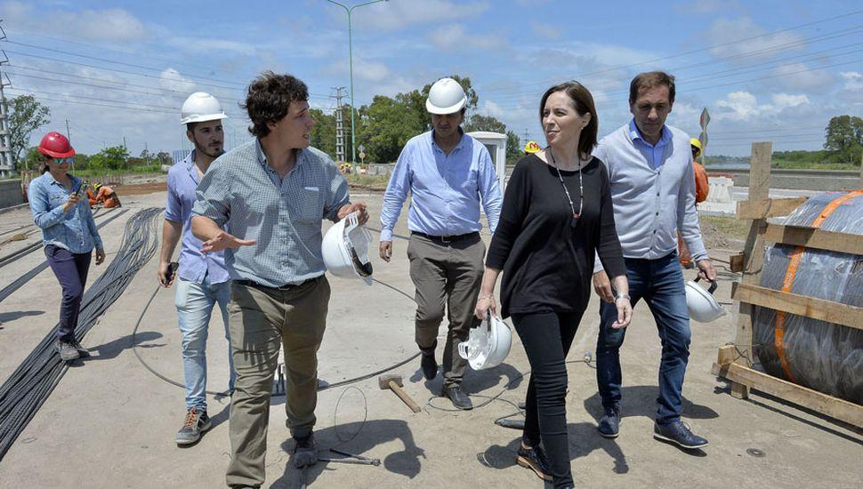 María Eugenia Vidal dispondrá de cuantiosos recursos para más obra pública de cara a 2019.