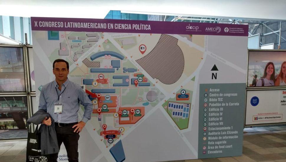 El licenciado Juan Pablo Itoiz, en México.