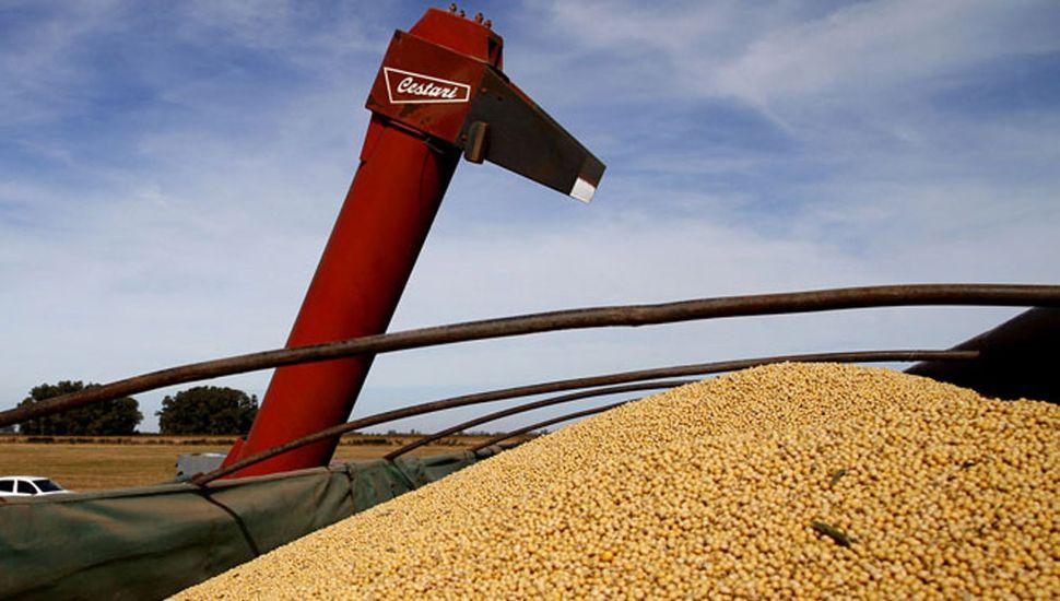 El mercado de granos de Rosario presentó ayer una menor actividad comercial.