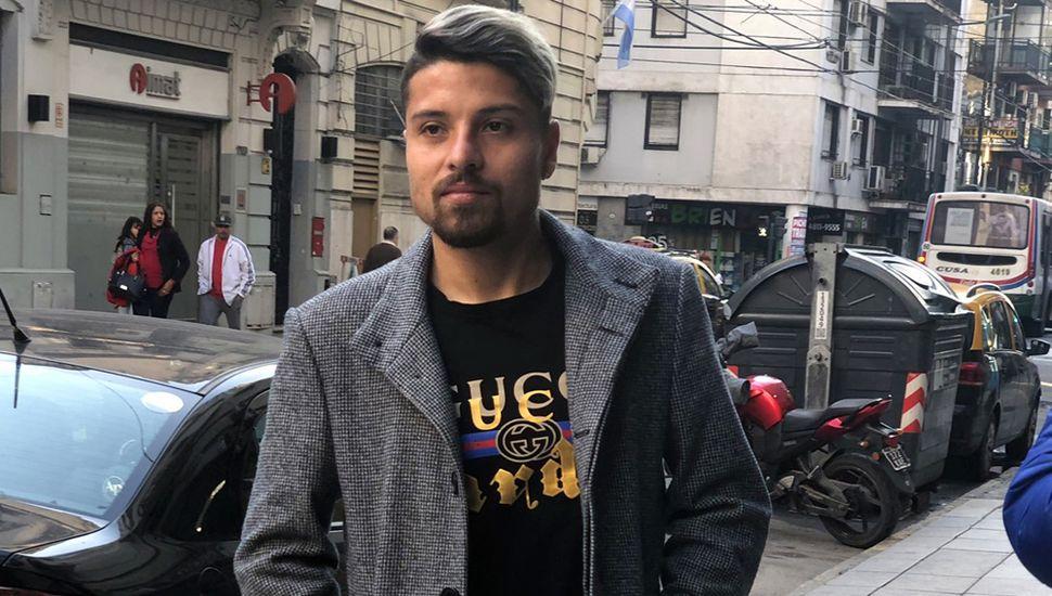 Sebastián Palacios, ayer, tras la revisión médica.