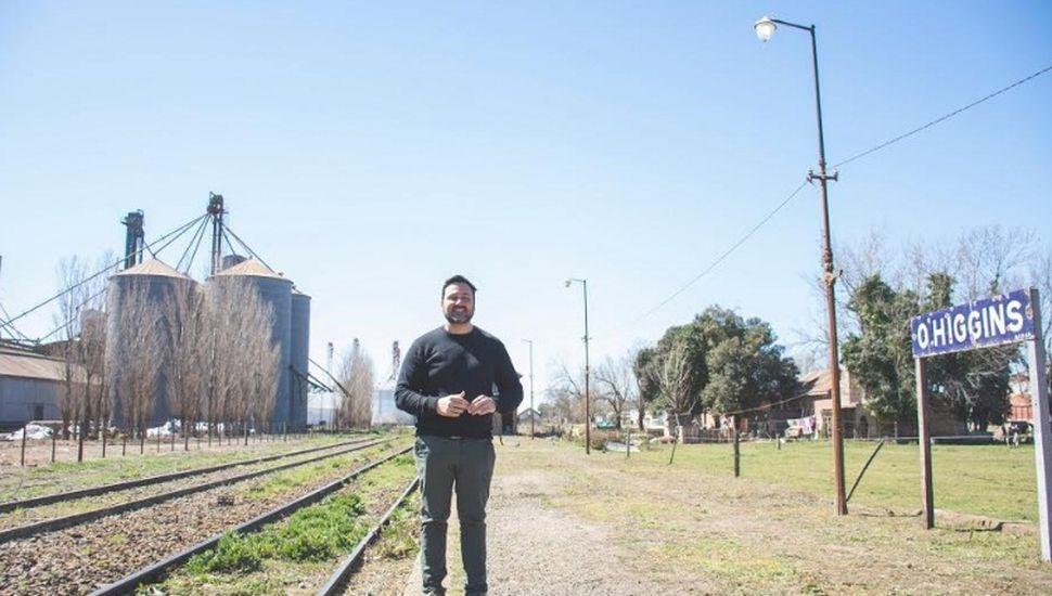 El viernes, Aiola tomará el tren con dirección Chacabuco - O'Higgins
