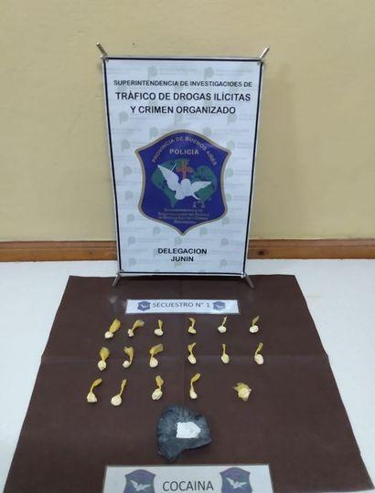 Secuestran cocaína en dos viviendas del barrio Los Perejiles