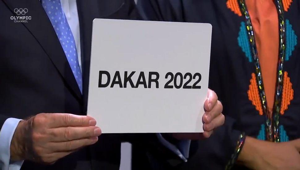 Dakar será la sede de los Juegos Olímpicos  de la Juventud 2022