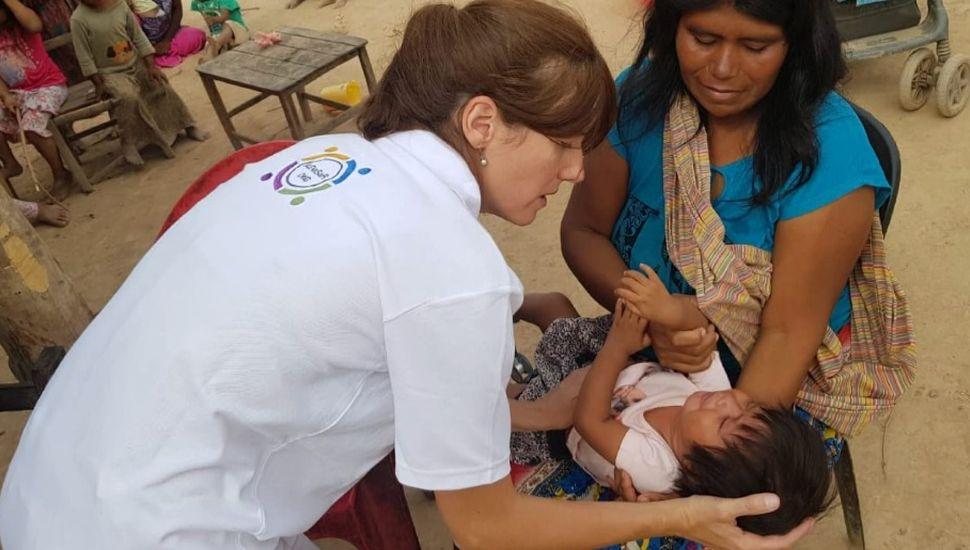 Médicas rojenses hicieron un nuevo viaje solidario al norte de Salta