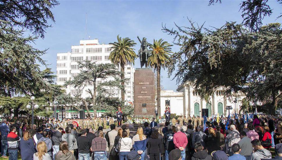 Se conmemoró los 168 años del paso a la inmortalidad del Libertador