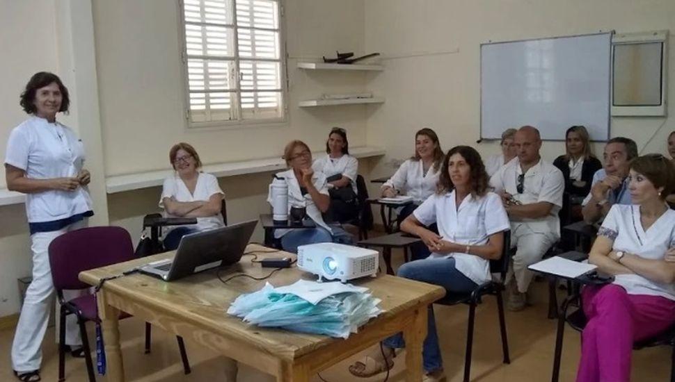 Los Equipos de Salud participaron de una charla informativa sobre el Coronavirus