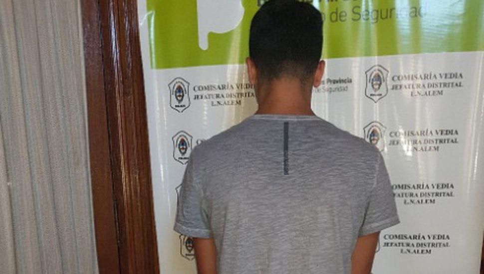 Detuvieron a un joven de 19 años en Vedia
