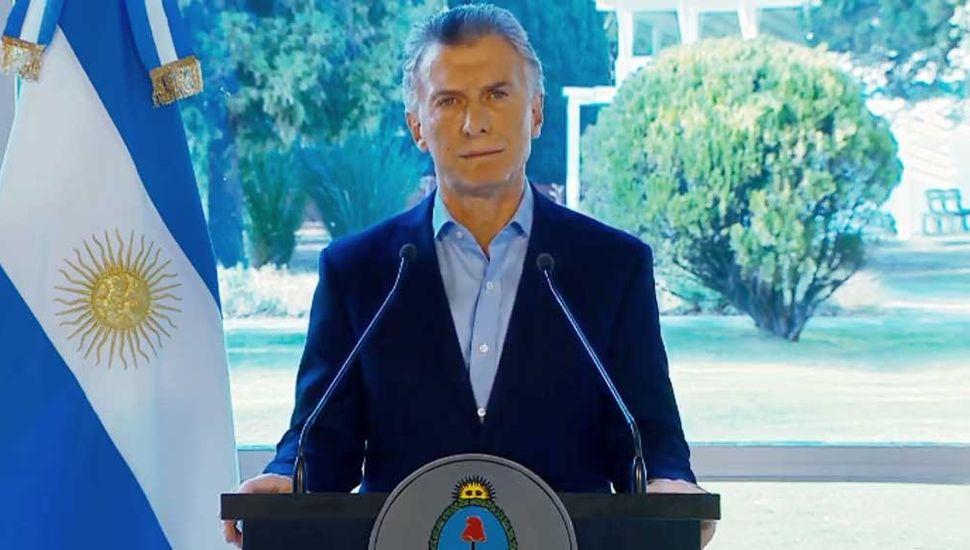 """Macri anunció """"medidas de alivio"""" y pidió """"disculpas"""" por sus dichos tras las PASO"""