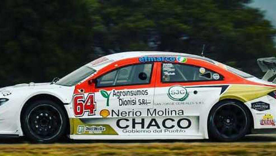 Franco Morillo no tuvo un buen entrenamiento y espera mejorar en San Nicolás, para la nueva fecha del Top Race Series.