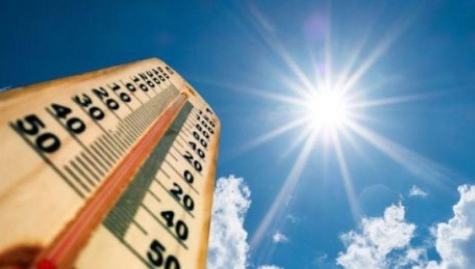 Clima más cálido de lo normal para los próximos meses en gran parte del país