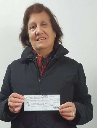 Sara Leonor Villegas ganó el primer premio.